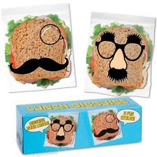 Groucho Marx Disguise Lunch Sandwich Bags!