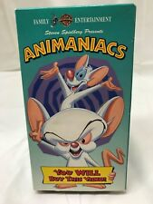 Anamaniacs : Pinky And The Brain You Will Buy This Video  VHS