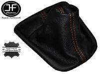 Manual de Cuero puntadas de hilo naranja Engranaje Polaina se ajusta Seat Ibiza Cordoba MK3 TDI 02-08