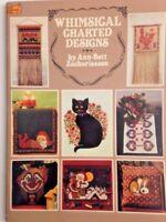 Dover Needlework Whimsical Charted Designs Ann-Bett Zachariassen Craft Patterns