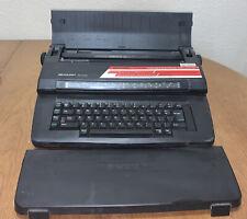 Sharp Pa 3100e Intelliwriter Black Portable Electronic Typewriter Tested Works