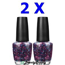 OPI Nail Polish Lacquer NL E71 Polka.COM 0.5 oz (Lot of 2)