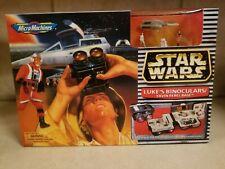 1996 Star Wars Micro Machines Lukes Binoculars/ Yavin Rebel Base Adventure Gear.