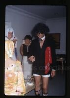 1960s  Kodachrome photo slide Adult Costume House Party Los Angeles CA