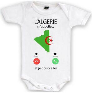 BODY GARÇON LA L'ALGERIE M'APPELLE...