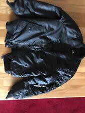 SouthPole Bomber Jacket Boys Sz: Large Black - Unisex