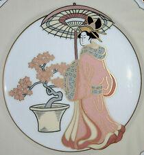 Fitz & Floyd Fine Porcelain Display Plate > Theme: Oriental > Hand Painted