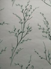 NEW Laura Ashley Pussy Willow Pale Sage  Wallpaper  x 4  (Same Batch) RRP £160