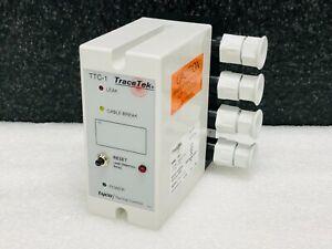 Tyco Thermal Controls TTC-1 TraceTek Controller Leak Detection/Cable Break