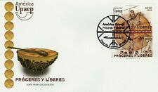 Chile 2014 FDC America UPAEP -Lautaro & Caupolican - National Heros & Leaders