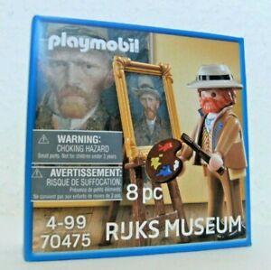 Playmobil Selbst-Porträt Vincent van Gogh 70475 Neu & OVP Rijks Museum Maler
