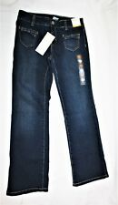 New Girls Gymboree Denim Blue Jeans Size 7 Adjustable Waist Bootcut NWT