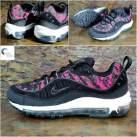 NIKE AIR MAX 98 'Pixel Black' -  Womens Trainers - Size Uk 5.5 Eu 39, CI2672 100
