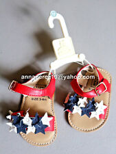 75% OFF! AUTH BABYGAP GIRL'S STARS SANDALS SHOES 18-24 mos BNEW US$24.95