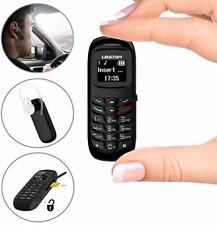 L8star Mini Small Mobile Cell Phone BM70 GSM Bluetooth  SIM Card 0.66 inch Black