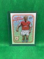 Dennis Bergkamp Futera 1997 Arsenal Trade Card Mint