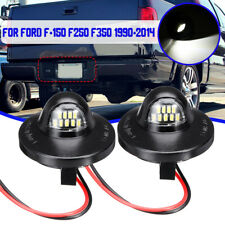 Pair LED Bright License Plate Light Pickup Truck For Ford F-150 F250 F350 90-14