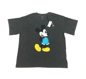 NEW Levi's x Disney Mickey Mouse Graphic Slacker Oversized T Shirt Womens Size L