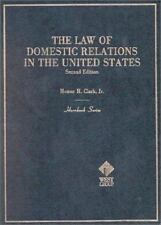 The Law of Domestic Relations in the US by Homer H., Jr. Clark  Student Edition