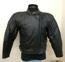 Dannisport Ladies Leather Motorcycle Motorbike Jacket, Size 16
