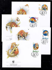 Belize 2004 - FDC - Dieren / Animals / Tiere  WWF/WNF