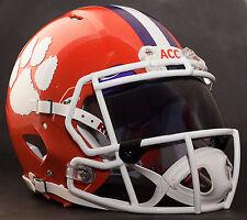 CLEMSON TIGERS NCAA Gameday REPLICA Football Helmet w/ OAKLEY Eye Shield