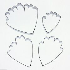 Kit Box large Peony Petals Cutter Set for sugarcraft  FAST NEXT DAY DESPATCH
