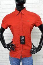Camicia LACOSTE Donna Size Taglia 40 Maglia Chemise Femme Shirt Woman