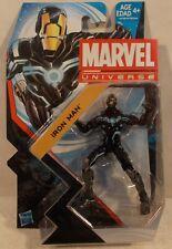 "Marvel Universe 3.75"" Series 5 #018 Iron Man (Space Armor) Hasbro  Mint On Card"
