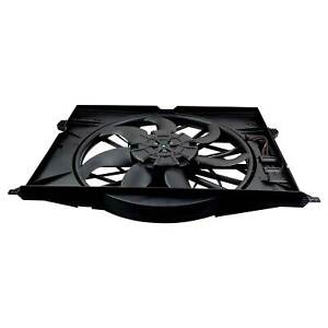 Motor Cooling Fan Assembly 2115050555 For Mercedes-Benz E350 E400 E420 2003-2008