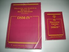 DSM -IV Manual & Quick Reference to Diagnostic Criteria from DSM-IV
