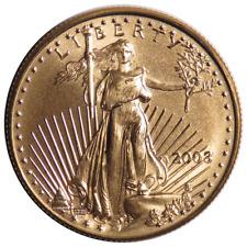 2003 $25 American Gold Eagle 1/2 oz Brilliant Uncirculated