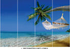 Beach Tropical Tree Sea Hammock Sky Photo Wallpaper Wall Mural Home Bedroom Deco
