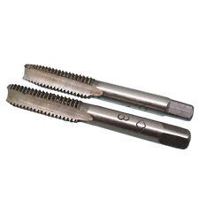 US Stock HSS 8mm x 1.25 Metric Taper & Plug Tap Right Hand Thread M8 x 1.25mm
