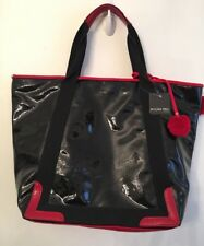 Mycra Pac Tour  New NWT Black and Red Patent Zip Top with Wallet