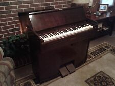 Antique Solid Wood Yamaha Organ With Stool Beautiful & Working ~1960's?