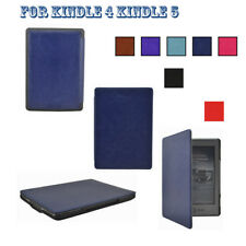 Slim Leather Case Cover Skin For 6inch Kindle4 Kindle5 (Kindle 4th & Kindle 5th)