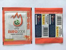 POCHETTE PANINI EURO 2008  AUTRICHE AUSTRIA SUISSE  PACKET TUTEN BUSTINA VERSION