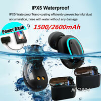 Q32/X8S Bluetooth 5.0 TWS Wireless Mini Earbuds 5D Stereo Waterproof Headphones