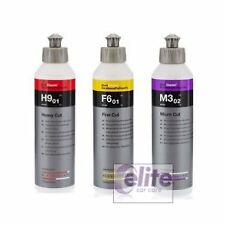 Koch Chemie 250ml Polish Sample Kit - H9, F6 & M3 - Heavy, Medium and Finishing