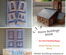 Stone Buildings Church and Historical Buildings Mould - NS08 for Model Railways