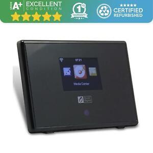 Ocean Digital Internet Radio Tuner - Bluetooth - Remote App Available - black