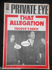 PRIVATE EYE - Vintage Satirical Political Humour Magazine - 6th February 1976