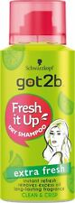 Schwarzkopf Got2b Fresh It Up Dry Shampoo Extra Fresh - NEW TRAVEL SIZE 100ml
