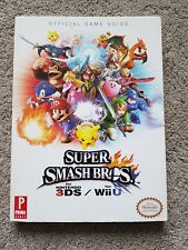 Super Smash Bros. Wii U and 3DS: Prima Official Game Guide FAST FREE UK POST