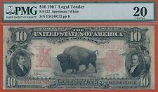 Fr. 122 $10 1901 Legal Tender PMG Very Fine 20.