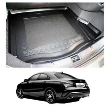 LDPE boot liner or natural rubber load mat bumper protector Mercedes CLA 2013+