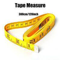 3m Cloth Measuring Tape Sewing Tailor Seamstress Soft Flat Body Ruler Measure