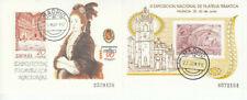 Spanien - Block 36 & 37 aus 1990 - Briefmarkenausstellung - gestempelt