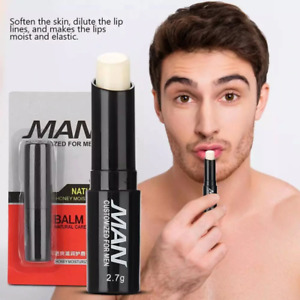 Lip Balm  Fro men Moisturizing Hydration Lighten Lip Lines Anti-dry Lip Balm...